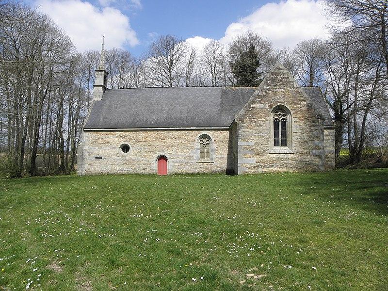 Photo du Monument Historique Chapelle Saint-Tugdual, ou Saint-Pabu situé à Saint-Guen