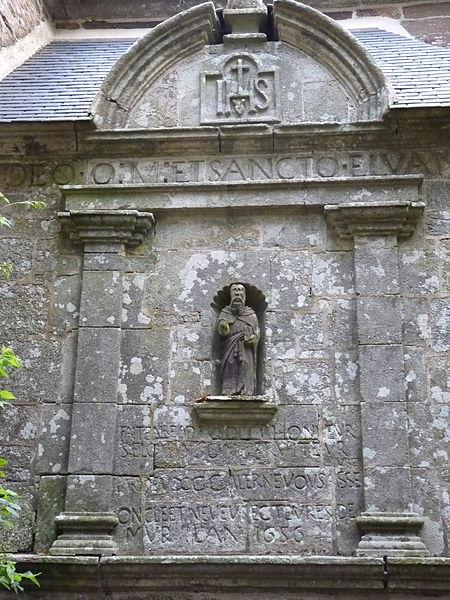Photo du Monument Historique Fontaine Saint-Elouan situé à Saint-Guen