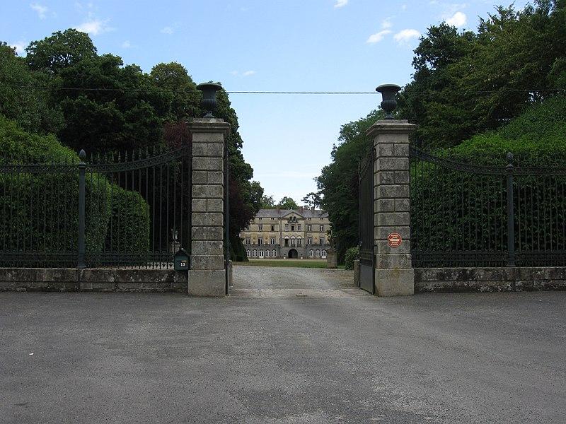 Photo du Monument Historique Château de l'Argentaye situé à Saint-Lormel