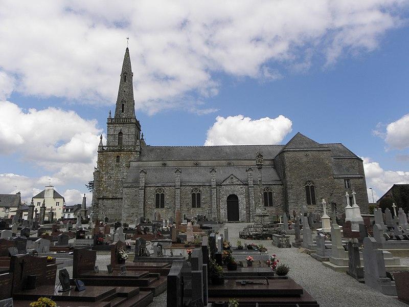 Photo du Monument Historique Eglise Saint-Mayeux situé à Saint-Mayeux