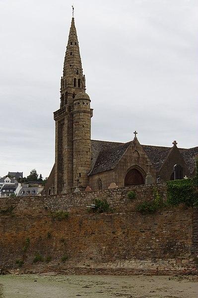 Photo du Monument Historique Eglise Saint-Michel situé à Saint-Michel-en-Grève