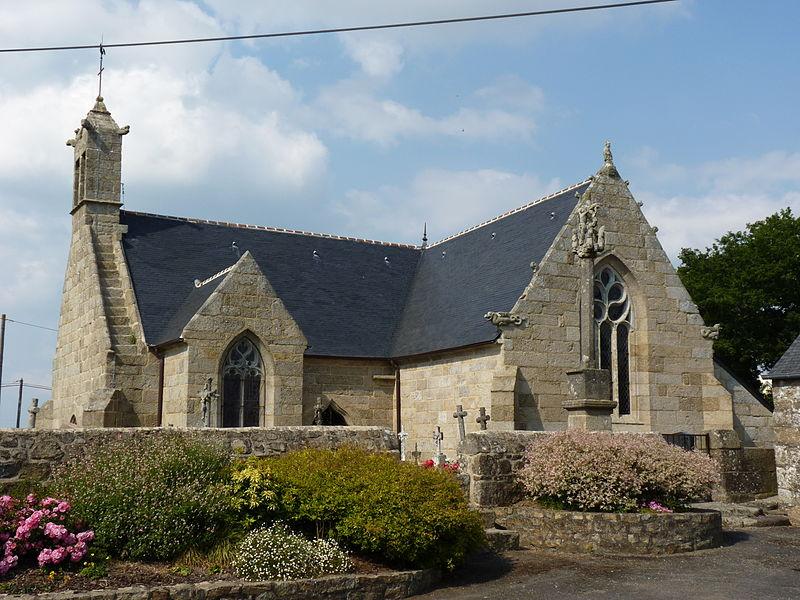 Photo du Monument Historique Eglise Saint-Nicodème situé à Saint-Nicodème