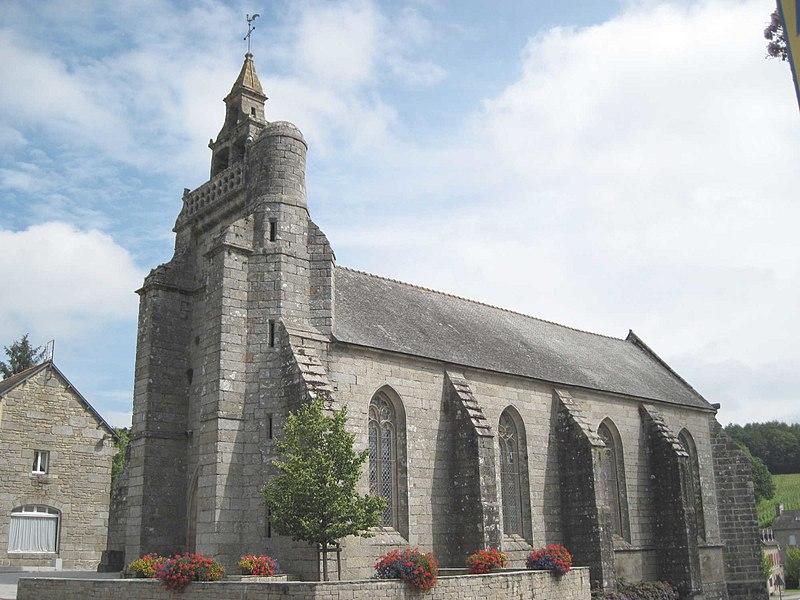 Photo du Monument Historique Eglise Saint-Nicolas situé à Saint-Nicolas-du-Pélem