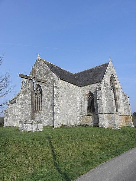 Photo du Monument Historique Chapelle Notre-Dame d'Avaugour situé à Saint-Péver