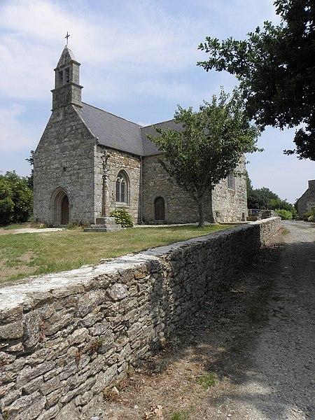 Photo du Monument Historique Restes de la chapelle de Kermaria situé à Squiffiec