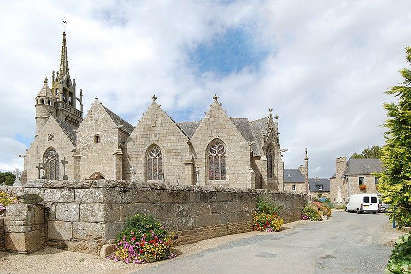 Photo du Monument Historique Eglise Notre-Dame de Trédrez et cimetière situé à Trédrez-Locquémeau