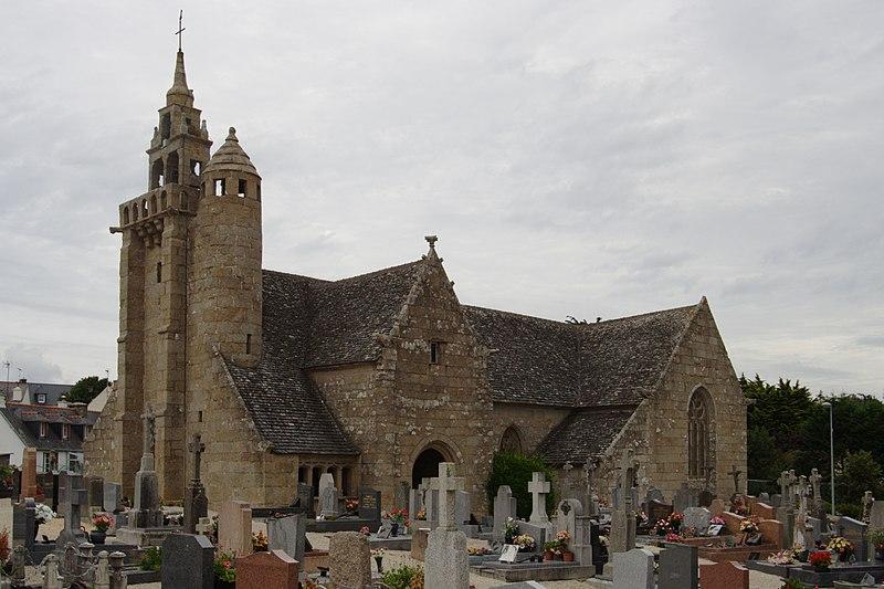 Photo du Monument Historique Eglise Saint-Quémeau de Locquémeau situé à Trédrez-Locquémeau