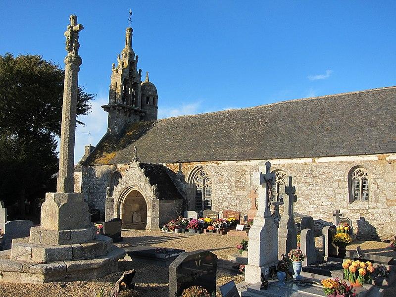 Photo du Monument Historique Eglise Saint-Théodore situé à Tréduder