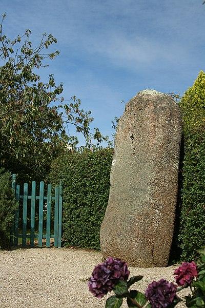 Photo du Monument Historique Menhir de Trémarche situé à Trégastel