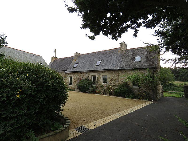 Photo du Monument Historique Ferme de Kernabat situé à Tréguier