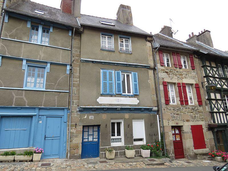 Photo du Monument Historique Maison à pans de bois situé à Tréguier