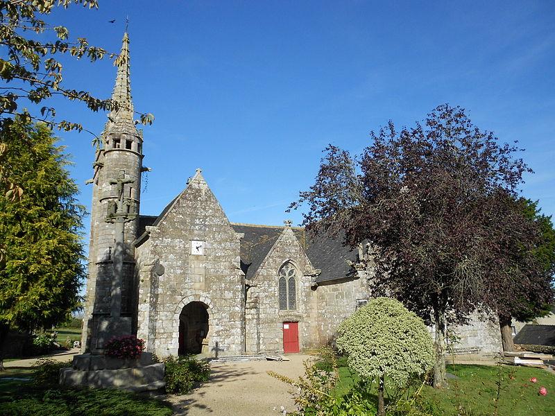 Photo du Monument Historique Eglise Notre-Dame de la Merci situé à Trémel