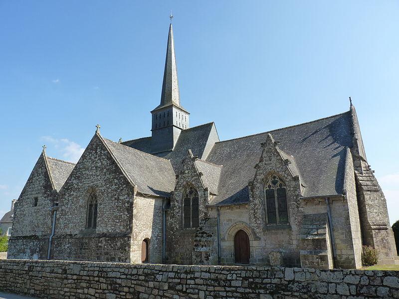 Photo du Monument Historique Eglise Saint-Pierre situé à Trémeur