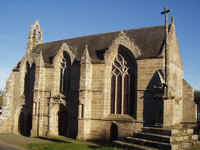 Photo du Monument Historique Chapelle Saint-Jacques et sa fontaine situé à Tréméven