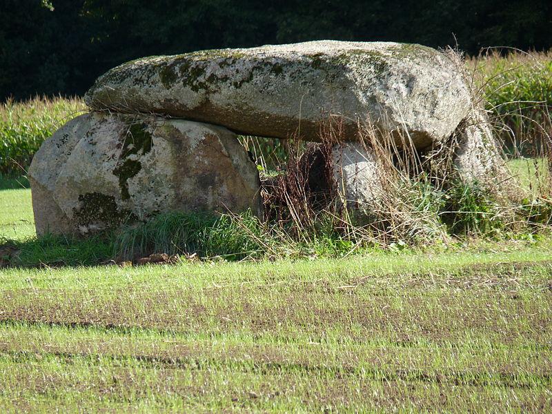 Photo du Monument Historique Dolmen de Pasquiou situé à Le Vieux-Bourg