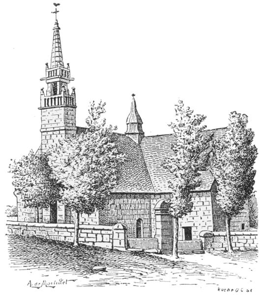Photo du Monument Historique Chapelle des Sept-Saints situé à Le Vieux-Marché