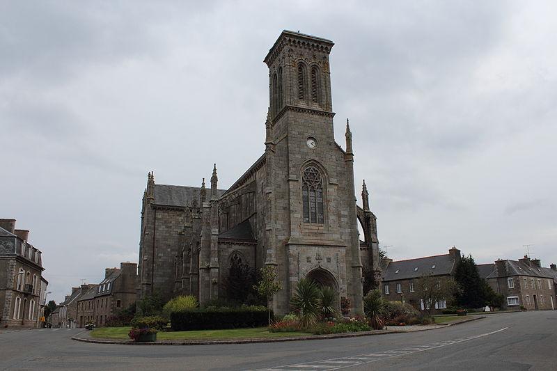 Photo du Monument Historique Eglise Notre-Dame situé à Vieux-Marché (Le)