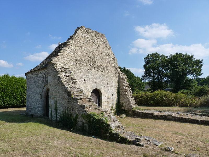Photo du Monument Historique Ancienne commanderie du Temple de la Nouée situé à Yvignac