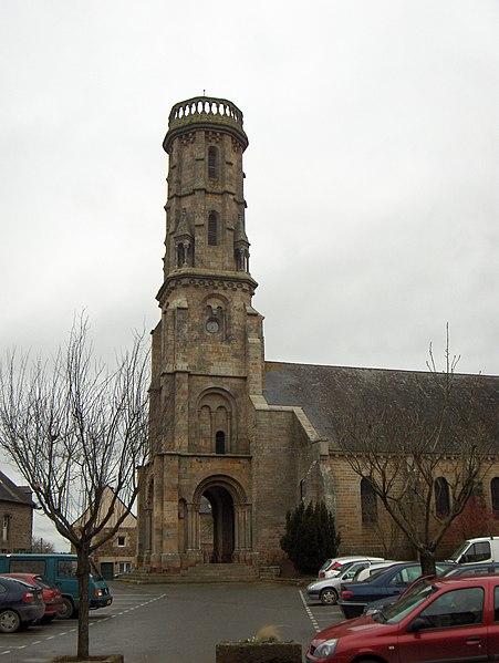 Photo du Monument Historique Eglise Saint-Malo situé à Yvignac