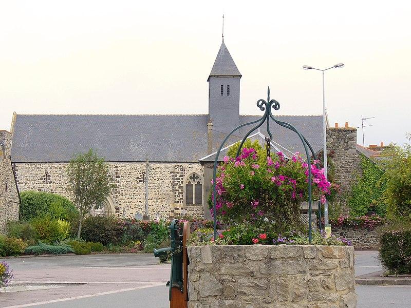 Photo du Monument Historique Eglise Saint-Gobrien situé à Morieux