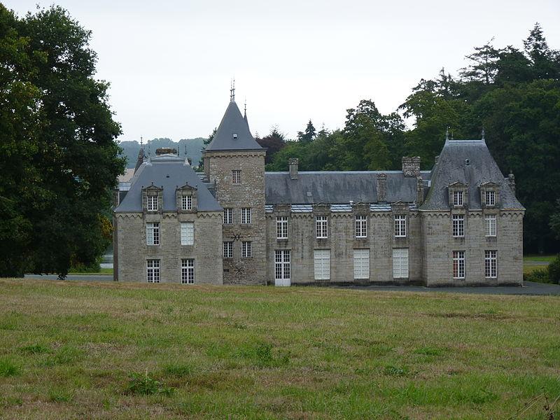 Photo du Monument Historique Château de Craffault situé à Plédran