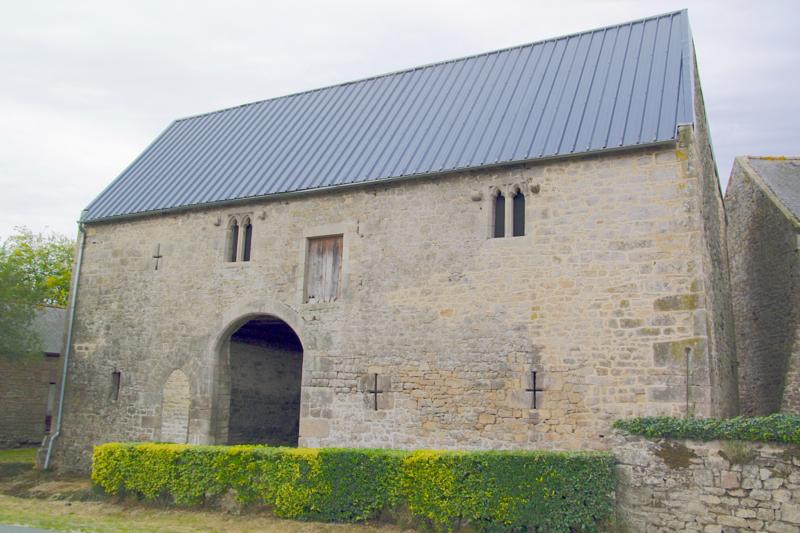 Photo du Monument Historique Manoir des Fossés situé à Plélan-le-Petit