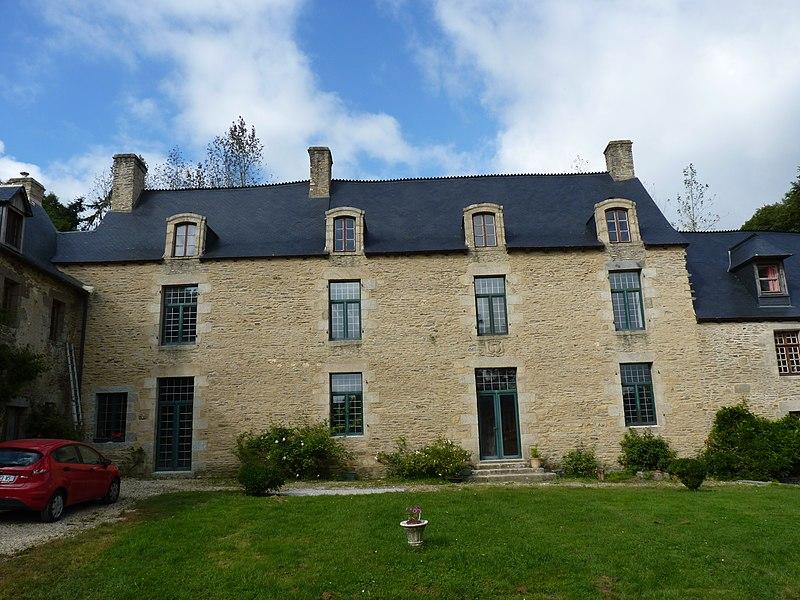 Photo du Monument Historique Manoir de Cléhunault situé à Saint-Martin-des-Prés