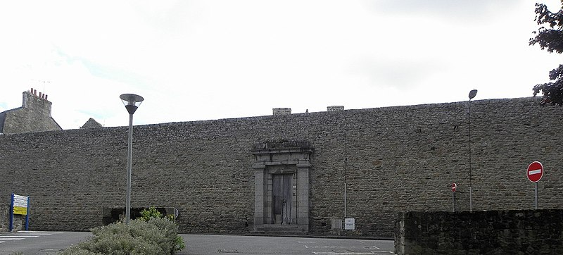 Photo du Monument Historique Ancienne prison situé à Guingamp