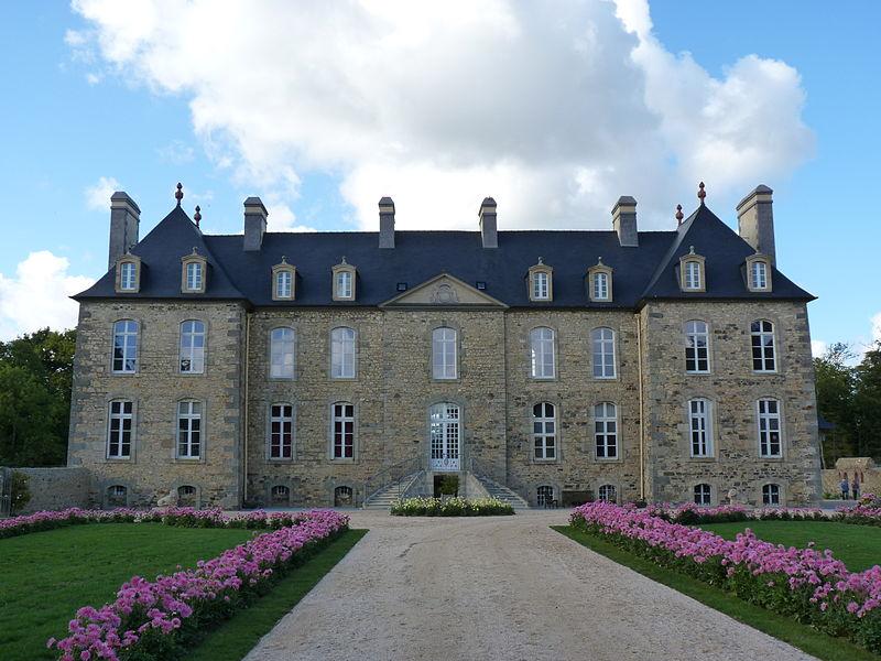 Photo du Monument Historique Château du Bois de la Salle situé à Pléguien