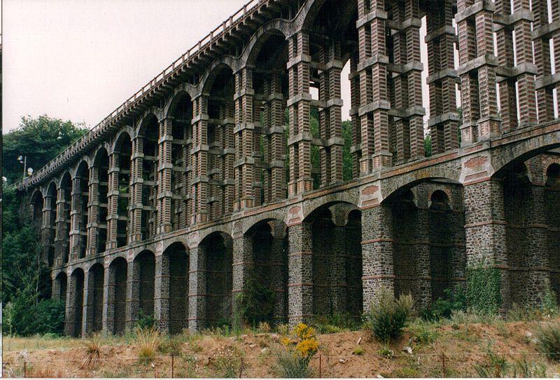 Photo du Monument Historique Viaduc de Souzain (également sur commune de Plérin) situé à Saint-Brieuc