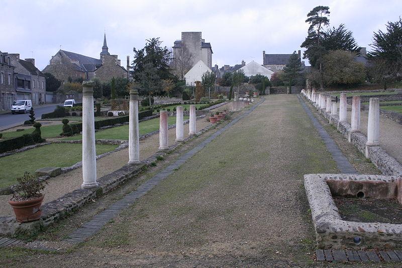 Photo du Monument Historique Site gallo-romain de Monterfil situé à Corseul