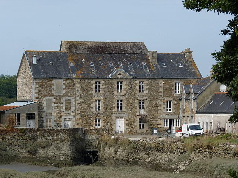 Photo du Monument Historique Moulin du Cosquer dit de Bili-Gwenn situé à Troguéry