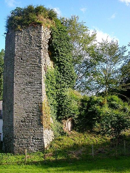 Photo du Monument Historique Ruines du château de La Chèze situé à La Chèze
