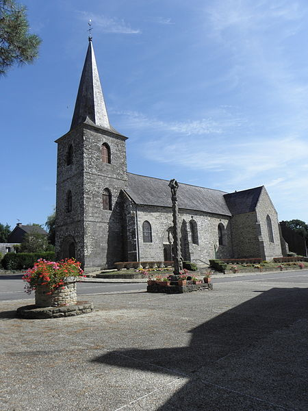 Photo du Monument Historique Eglise paroissiale Notre-Dame situé à La Ferrière