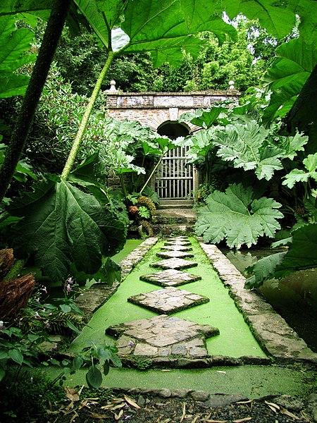 Photo du Monument Historique Jardins de Kerdalo situé à Trédarzec