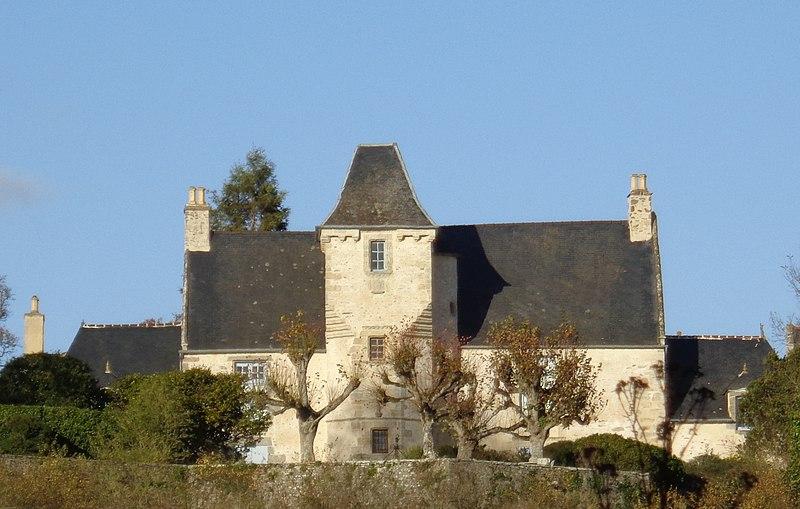 Photo du Monument Historique Manoir du Châtelier-Guitrel situé à Saint-Samson-sur-Rance