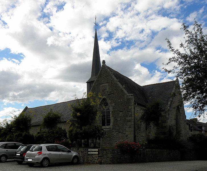Photo du Monument Historique Eglise Saint-Pierre situé à Taden