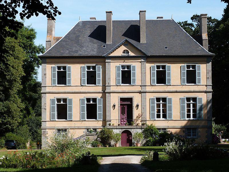 Photo du Monument Historique Château des Portes situé à Noyal