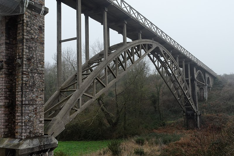Photo du Monument Historique Viaduc de Caroual situé à Erquy