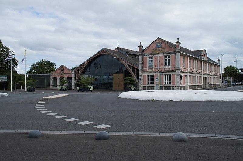 Photo du Monument Historique Ancienne gare ferroviaire départementale situé à Saint-Brieuc