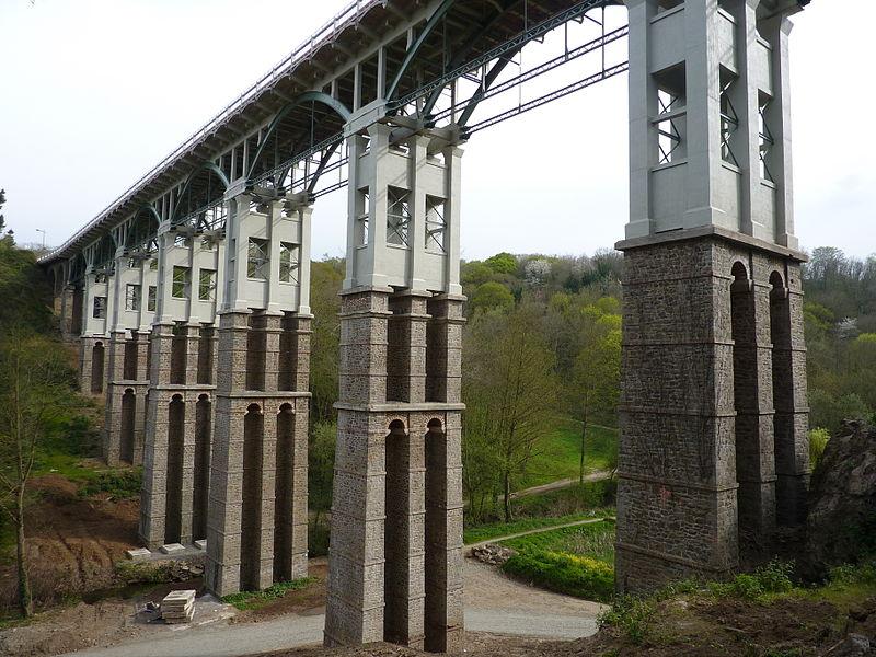 Photo du Monument Historique Viaduc de Toupin situé à Saint-Brieuc