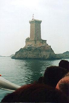 Photo du Monument Historique Phare des Triagoz situé à Plouézec