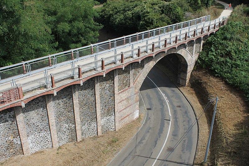 Photo du Monument Historique Pont des Courses situé à Saint-Brieuc