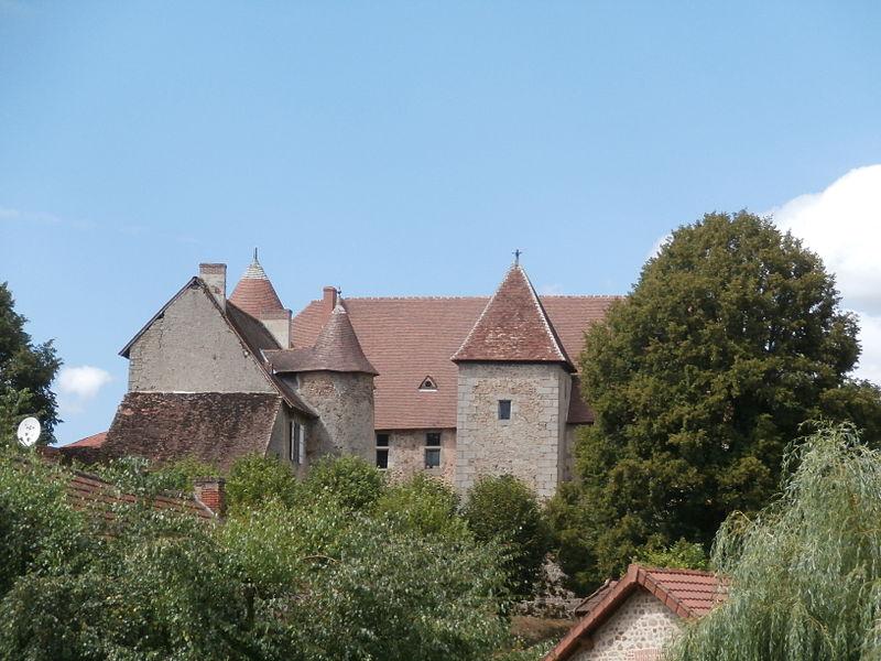 Photo du Monument Historique Château de Chantemille situé à Ahun