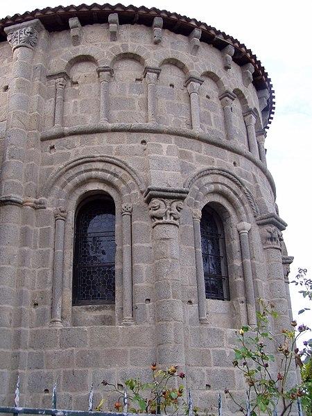 Photo du Monument Historique Eglise Saint-Sylvain situé à Ahun