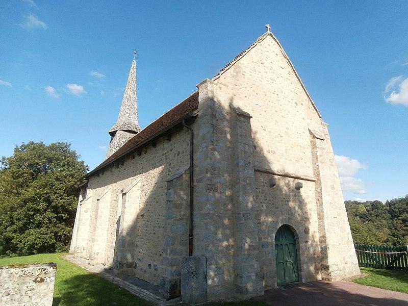 Photo du Monument Historique Eglise Saint-Pierre situé à Alleyrat