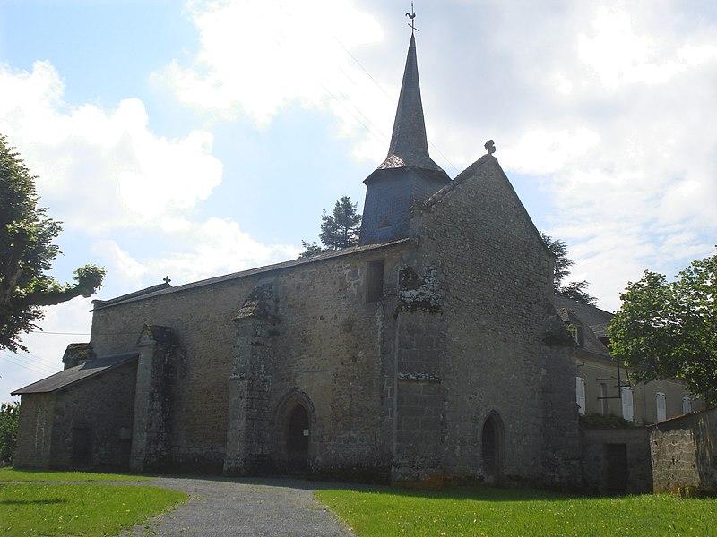 Photo du Monument Historique Eglise Saint-Eutrope situé à Arrènes