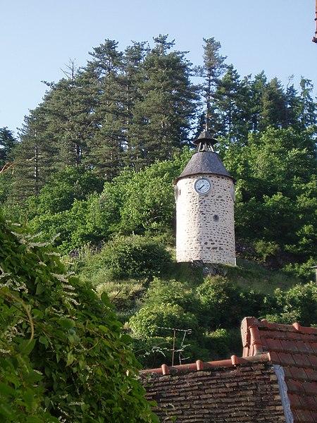 Photo du Monument Historique Tour de l'Horloge situé à Aubusson