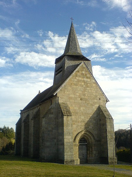 Photo du Monument Historique Eglise Saint-Sulpice situé à Banize