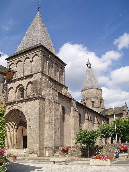Photo du Monument Historique Eglise Saint-Barthélémy situé à Bénévent-l'Abbaye
